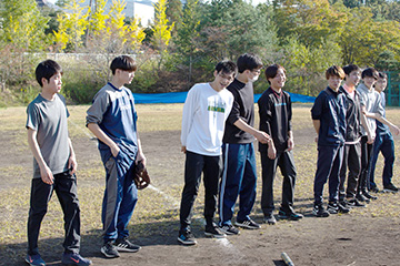 """<span class=""""title"""">学生自治会主催の球技大会が開催されました</span>"""